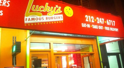 Photo of American Restaurant Lucky's Famous Burgers at 370 W 52nd St, New York, NY 10019, United States