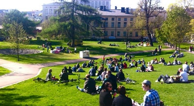 Photo of Park Sinebrychoffin puisto at Bulevardi 40, Helsinki 00180, Finland