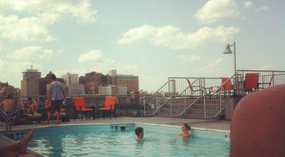Photo of Pool Rooftop Pool at American Tobacco Center at 119 N 20th St, Richmond, VA 23223, United States