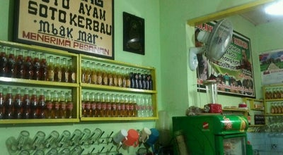 "Photo of Asian Restaurant Soto kerbau Bu Marni at Alun"" Kudus, Indonesia"