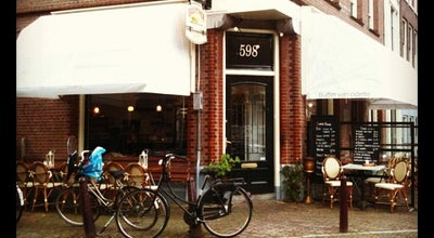Photo of Cafe Buffet van Odette at Prinsengracht 598, Amsterdam 1017 KS, Netherlands