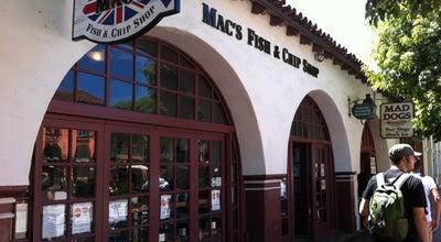 Photo of Fish and Chips Shop Mac's Fish & Chip Shop at 503 State St, Santa Barbara, CA 93101, United States