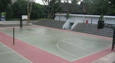 Photo of Basketball Court Kodim Basket Stadium at Kudus Regency, Indonesia