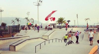 Photo of Skate Park Banks at Emissário Submarino, Santos 11065-201, Brazil