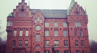 Photo of Library Malmö Stadsbibliotek at Kung Oscars Väg 11, Malmö 211 33, Sweden