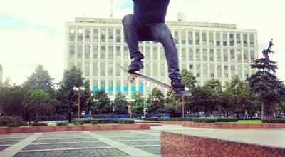 Photo of Skate Park Скейтспот at Калужская Пл., Москва, Russia