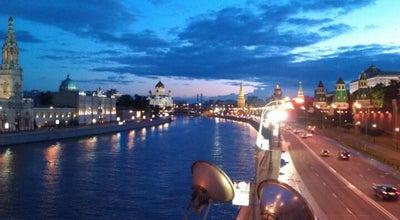 Photo of Bridge Большой Москворецкий мост at Большой Москворецкий Мост, Москва, Russia