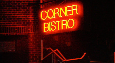 Photo of Burger Joint Corner Bistro at 331 W 4th St, New York, NY 10014, United States