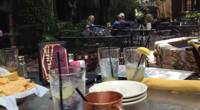 Photo of American Restaurant Palmer's Restaurant, Bar, & Courtyard at 218 Moore St, San Marcos, TX 78666, United States