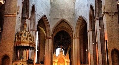 Photo of Church Turun tuomiokirkko at Tuomiokirkonkatu 1, Turku 20500, Finland