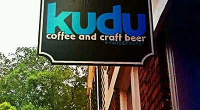 Photo of Coffee Shop Kudu Coffee & Craft Beer at 4 Vanderhorst St, Charleston, SC 29403, United States