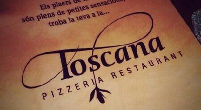 Photo of Italian Restaurant Restaurant La Toscana at Blanes, Spain