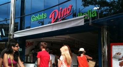 Photo of Ice Cream Shop Gelateria Dino at Av. S'agaró, 55, Castell-Platja d'Aro 17250, Spain