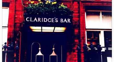 Photo of Hotel Bar Claridges's Bar at 49 Brook St., Mayfair W1K 4HR, United Kingdom