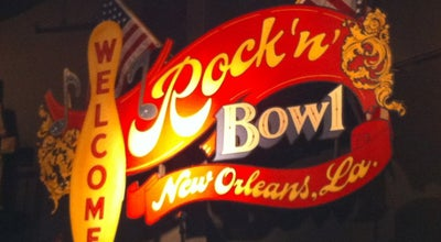 Photo of Bowling Alley Rock 'n' Bowl at 3000 S Carrollton Ave, New Orleans, LA 70118, United States