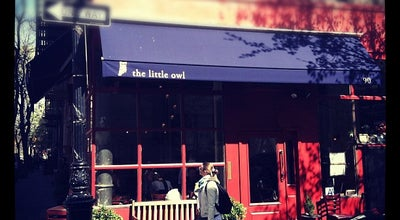 Photo of American Restaurant The Little Owl at 90 Bedford St, New York, NY 10014, United States