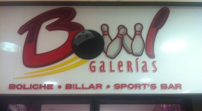 Photo of Bowling Alley Bowl Galerias Boliche & Billar at Plaza Galerias San Miguel, Culiacan, Mexico