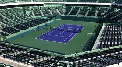 Photo of Tennis Crandon Park Tennis Center at 7300 Crandon Blvd, Key Biscayne, FL 33149, United States