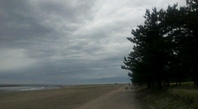 Photo of Beach 岩瀬浜海水浴場 at 岩瀬天神町, 富山市 931-8378, Japan