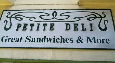 Photo of Sandwich Place Petite Deli at 752 Columbus Ave, San Francisco, CA 94133, United States