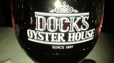 Photo of Seafood Restaurant Dock's Oyster House at 2405 Atlantic Avenue, Atlantic City, NJ 08401, United States