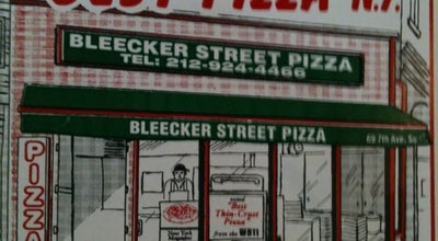 Photo of Pizza Place Bleecker Street Pizza at 69 7th Ave S, New York, NY 10014, United States