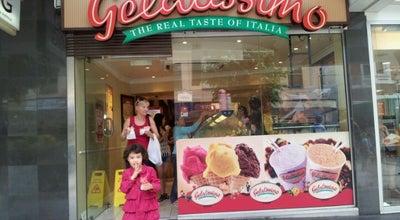 Photo of Ice Cream Shop Gelatissimo at Shop 3 The Pavillion, Brisbane, QL 4000, Australia