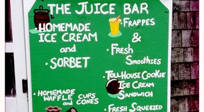Photo of Ice Cream Shop Juice Bar at 12 Broad St, Nantucket, MA 02554, United States