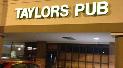 Photo of Bar Taylor's Pub at 1325 W 86th St, Indianapolis, IN 46260, United States