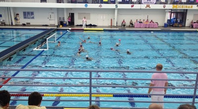 Photo of Pool Canham Natatorium at 500 E Hoover Ave, Ann Arbor, MI 48104, United States
