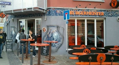 Photo of Burger Joint Burgermeister at Dreieichstr. 20, Frankfurt am Main 60594, Germany