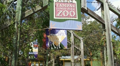 Photo of Zoo Tampa's Lowry Park Zoo at 1101 W Sligh Ave, Tampa, FL 33604, United States