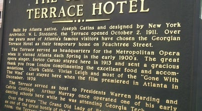Photo of Hotel Georgian Terrace Hotel at 659 Peachtree St Ne, Atlanta, GA 30308, United States