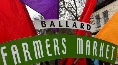 Photo of Farmers Market Ballard Farmer's Market at 5330 Ballard Ave Nw, Seattle, WA 98107, United States