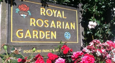 Photo of Botanical Garden International Rose Test Garden at 400 Southwest Kingston Avenue, Portland, OR 97201, United States