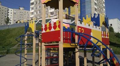Photo of Playground Детская площадка напротив к/т Мурманск at Ул. Карла Маркса, Мурманск, Russia
