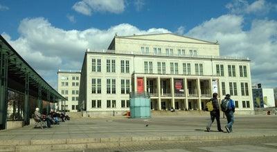 Photo of Opera House Oper Leipzig at Augustusplatz 12, Leipzig 04109, Germany