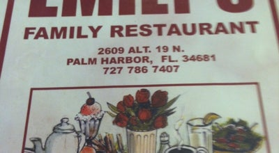Photo of Diner Emily's at 2609 Alt 19, Palm Harbor, FL 34683, United States