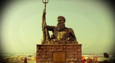 Photo of Monument / Landmark Estátua de Netuno at Av. Presidente Castelo Branco, Praia Grande, Brazil