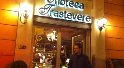 Photo of Wine Bar Enoteca Trastevere at Via Della Lungaretta, 86, Roma 00153, Italy