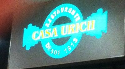 Photo of German Restaurant Casa Urich at R. S. José, 50, Rio de Janeiro 20030-060, Brazil