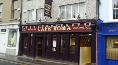 Photo of Cafe Roma Café at 65 Lwr John St, Kilkenny, Ireland