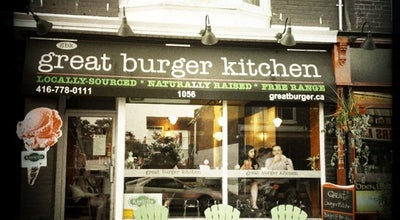 Photo of Burger Joint Great Burger Kitchen at 1056 Gerrard St., Toronto, ON, Canada