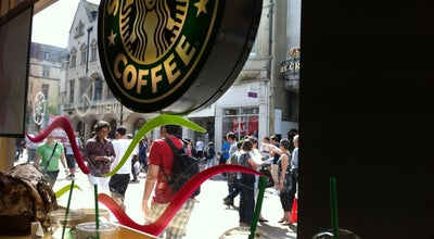 Photo of Coffee Shop Starbucks at 6-7 Cornmarket Street, Oxford OX1 3EX, United Kingdom