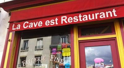 Photo of French Restaurant La Cave est restaurant at 45 Rue De Paris, Montreuil 93100, France