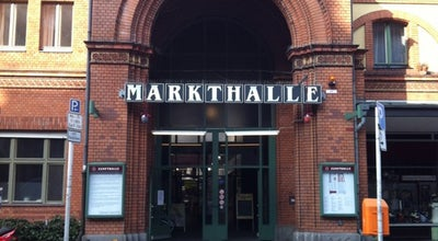 Photo of Food and Drink Shop Arminius-Markthalle at Arminiusstr. 2, Berlin 10551, Germany