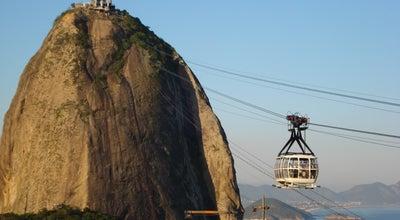 Photo of Cable Car Bondinho do Pão de Açúcar at Pça. Gen. Tibúrcio / Mro. Da Urca / Pão De Açúcar, Rio de Janeiro 22290-240, Brazil