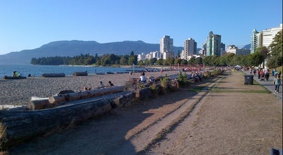 Photo of Beach English Bay Beach at Beach Ave, Vancouver, Br V6G 1Y9, Canada