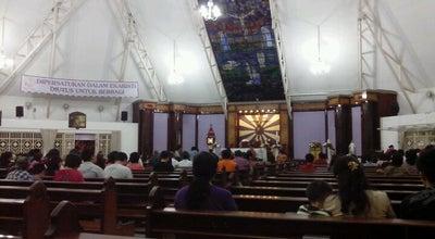 Photo of Church Gereja Katolik Santa Monika at Jl. Alamanda Sektor 1.2. Blok V 5, BSD City, Tangerang 15318, Indonesia