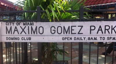 Photo of Other Venue Maximo Gomez Park at 801 Sw 15th Ave, Miami, FL 33135